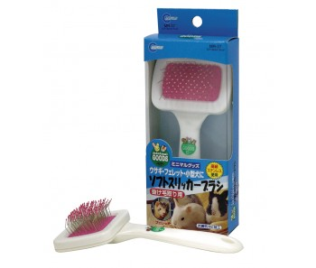 Marukan Soft Slicker Brush for Rabbit [MR37]