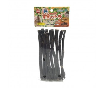 MARUKAN TREE TWIGS FOR SMALL ANIMALS 10pcs - Available in Apple & Pear