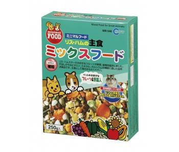 Marukan Hamster Main Food Mixed 250g [MR546]