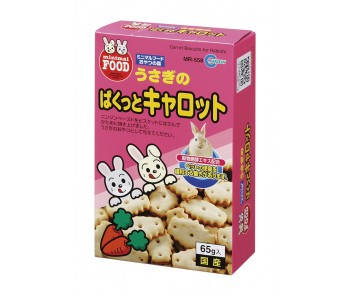 Marukan Carrot Biscuit for Rabbit 65g [MR558]