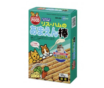 Marukan Cheese & Vegetable Sticks for Small Animals 55g [MR559]