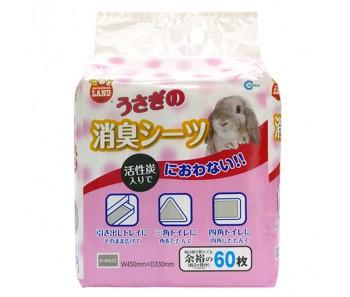 Marukan Rabbit Deodorizing Sheets [MR827] 60pcs
