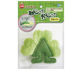 Marukan Clover Shaped Loofa Toy [MR922]