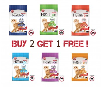"""Health on Plus For Cat Mix & Match Buy 2 Get 1 Free"