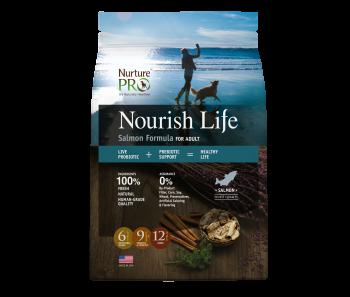 Nurture Pro Nourish Life - Dog Adult Salmon Formula - Available 4lbs, 12.5lbs & 26lbs