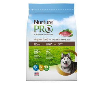 Nurture Pro Original - Dog Puppy & Adult Large Breed Lamb - Available 4lbs, 12.5lbs & 26lbs