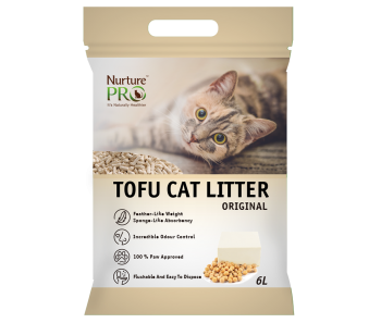 Nurture Pro Tofu Cat Litter Original 6 L