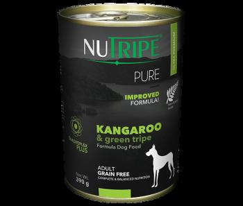 Nutripe Dog Canned Pure' Kangaroo & Green Tripe Formula 390g