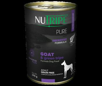 Nutripe Dog Canned Pure' Goat & Green Tripe Formula 390g