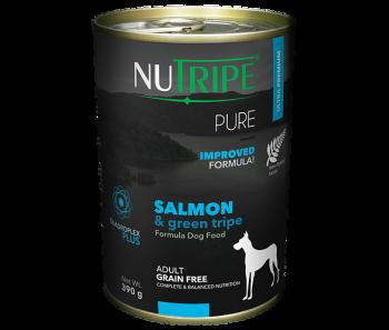 Nutripe Dog Canned Pure Salmon & Green Tripe Formula 390g