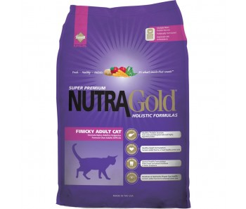 NutraGold Cat Holistic Finicky Adult Cat - 3kg