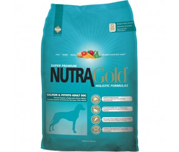 NutraGold Dog Holistic Salmon & Potato Formula - 15kg