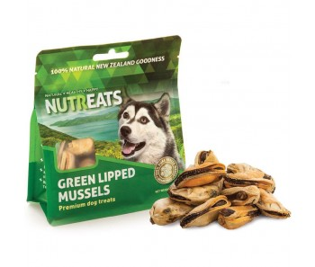 Nutreats Green Lipped Mussels Dog Treats 50g