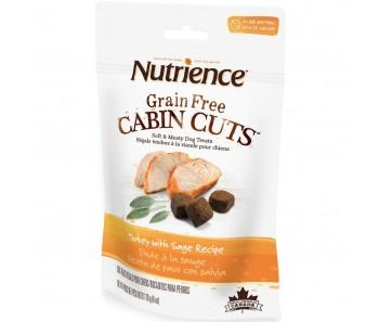 Nutrience Grain Free Cabin Cuts Turkey With Sage Dog Treats 170g