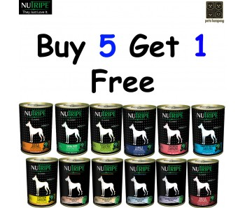 'Nutripe' Dog Canned Classic - Buy 5 Get 1 Free