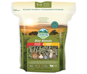Oxbow Farm Fresh Hay Blends Western Timothy & Orchard Grass - Available in 15oz, 40oz & 90oz