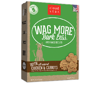 Cloud Star Wag More Bark Less Oven Baked Chicken And Carrots Dog Treats 16oz