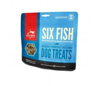 Orijen Freeze Dried Dog Treats - Six Fish - 92g