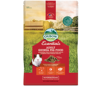 Oxbow Essentials Adult Guinea Pig Food - Available in 5lbs & 10lbs