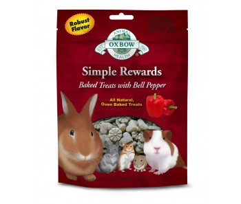 Oxbow Simple Rewards Baked Treats with Bell Pepper 60g