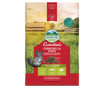 Oxbow Essentials Chinchilla Food - Available in 3lbs & 10lbs