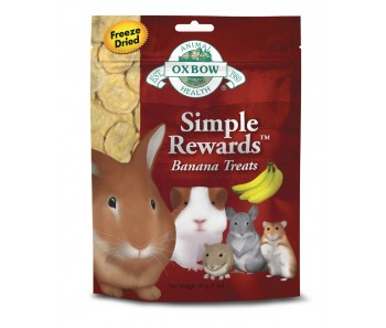 Oxbow Simple Rewards Banana Treat 30g