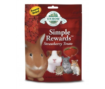 Oxbow Simple Rewards Strawberry Treat 15g