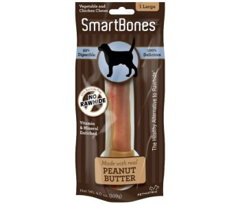 SmartBones Peanut Butter Large - Available in 1pc & 3pcs