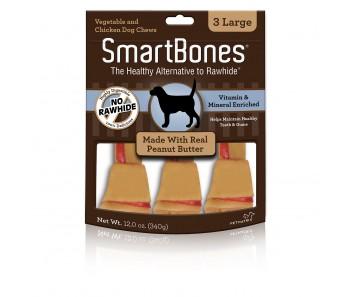 SmartBones Peanut Butter Large - 3pcs