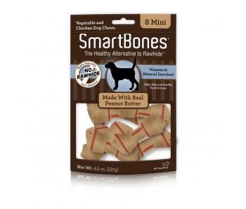 SmartBones Peanut Butter Mini - Available in 8pcs & 30pcs