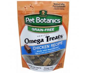 Pet Botanics Omega Treats Chicken Recipe for Dogs 12oz