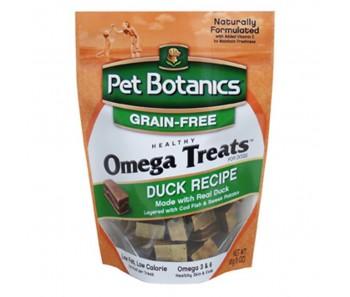 Pet Botanics Omega Treats Duck Recipe for Dogs 5oz