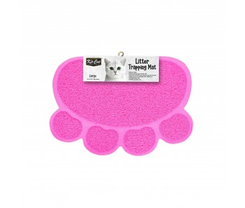 Kit Cat Litter Trapping Mat (Large) - Pink