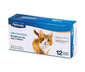 Petmate Cat Litter Box Liner 12 Large