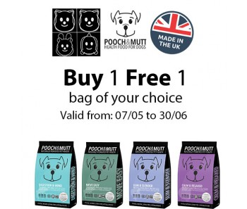 'Pooch & Mutt' Dog Food Promo 1 For 1