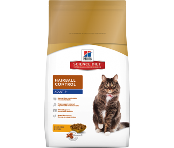 Science Diet Feline Hairball Control Senior - Available in 2kg