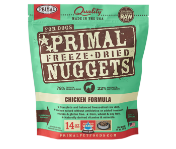 Primal Freeze-Dried Canine Chicken Formula - 14oz.