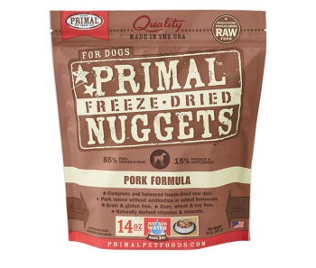 Primal Freeze-Dried Canine Pork Formula - 14oz.