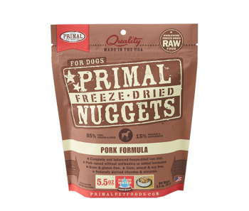 Primal Freeze-Dried Canine Pork Formula - 5.5oz.