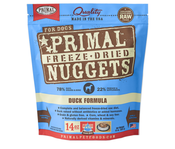 Primal Freeze-Dried Canine Duck Formula - 14oz.