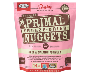 Primal Freeze-Dried Feline Beef & Salmon Formula - 14oz