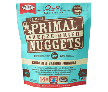 Primal Freeze-Dried Feline Chicken & Salmon Formula - 14oz
