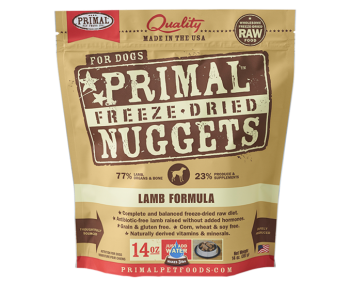 Primal Freeze-Dried Canine Lamb Formula - 14oz.