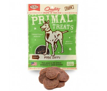 Primal Treats Jerky Pork Chips 3oz