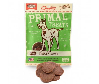Primal Treats Jerky Turkey Chips 3oz