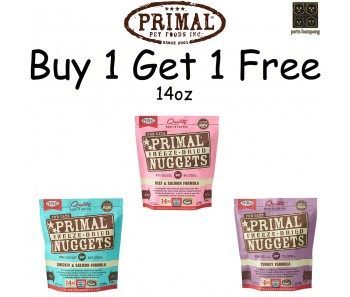 'Primal Freeze-Dried Feline 14oz (Duo Bundle Mix) - Buy 1 Get 1 Free