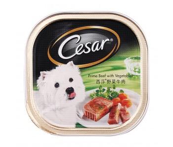 Cesar Prime Beef & Vegetable 100g