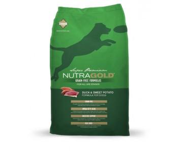 NutraGold Dog Grain Free Duck & Sweet Potato Formula - 2.25kg