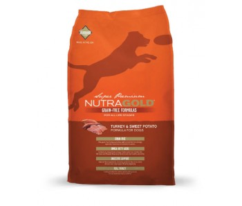 NutraGold Dog Grain Free Turkey & Sweet Potato Formula' - 13.6kg
