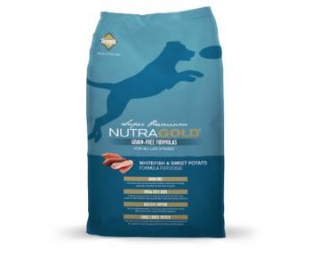 NutraGold Grain Free Dog - Whitefish & Sweet Potato Formula 13.6kg